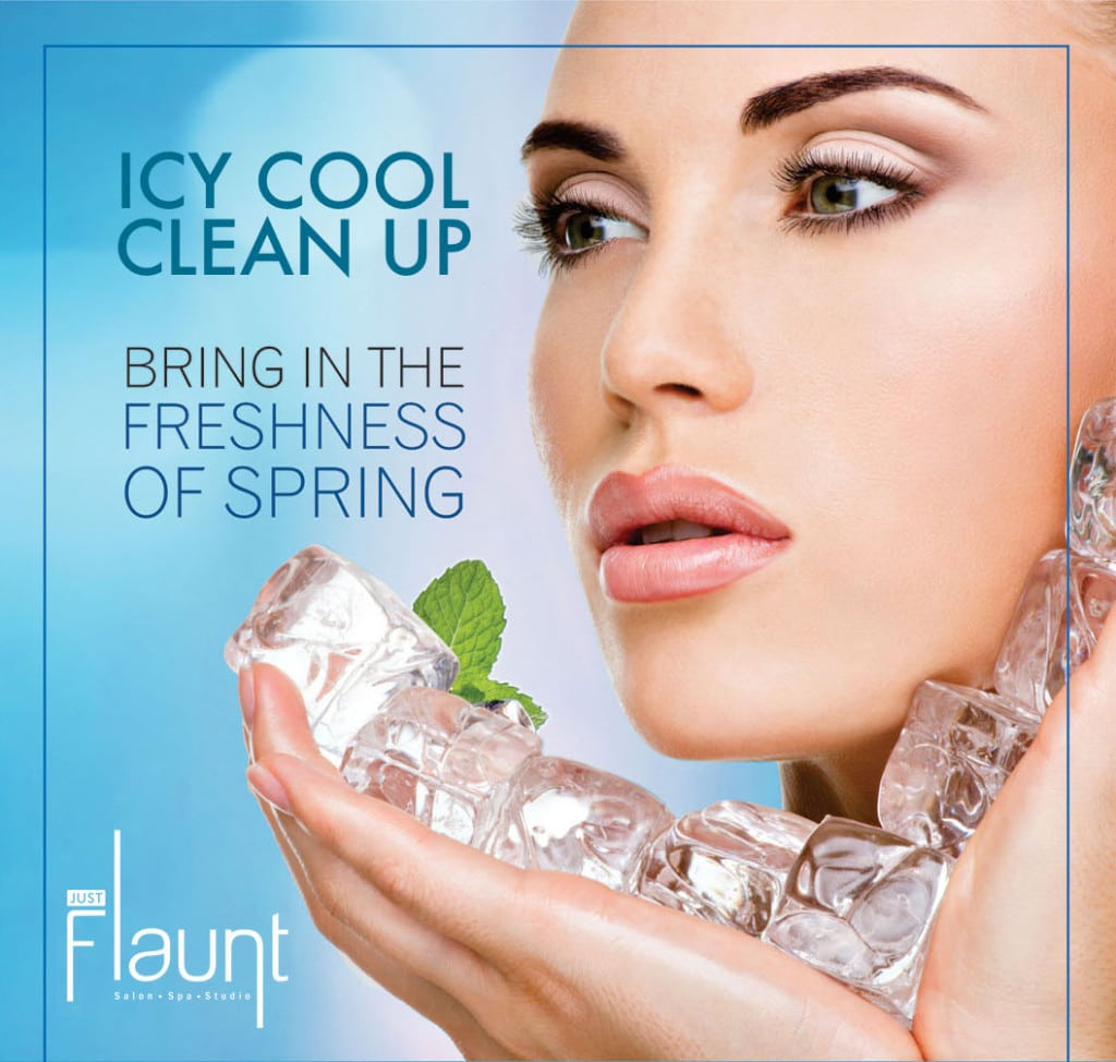 Icy Cool Face Clean Up | Just Flaunt Salon
